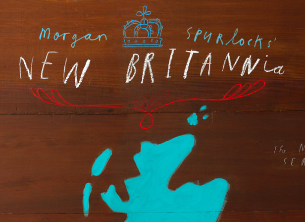 Oliver Jeffers / Sky Atlantic / Morgan Spurlock's New Britannia Map + Website