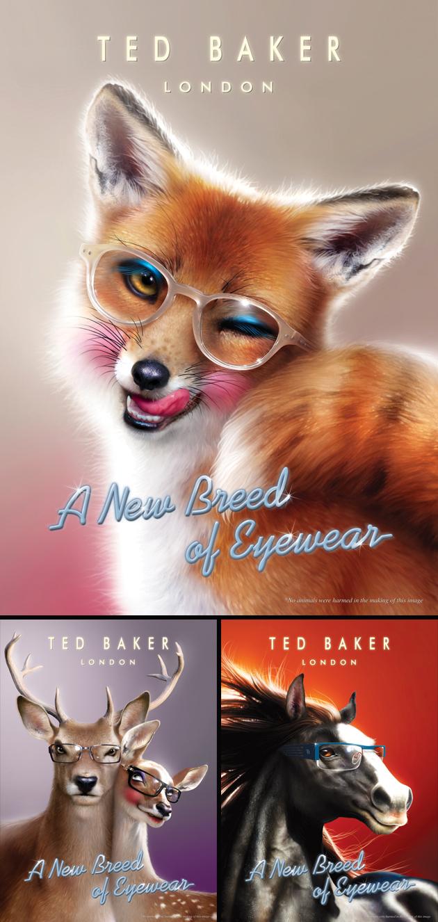 Arn0 / Ted Baker Eyewear Christmas 2011