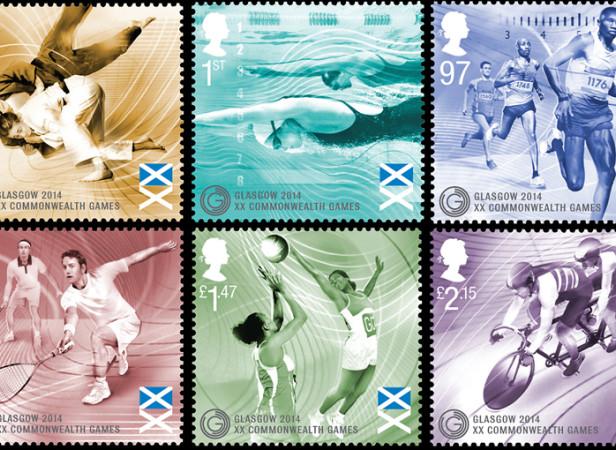 Nanette Hoogslag / The Royal Mail / Commonwealth Games 2014
