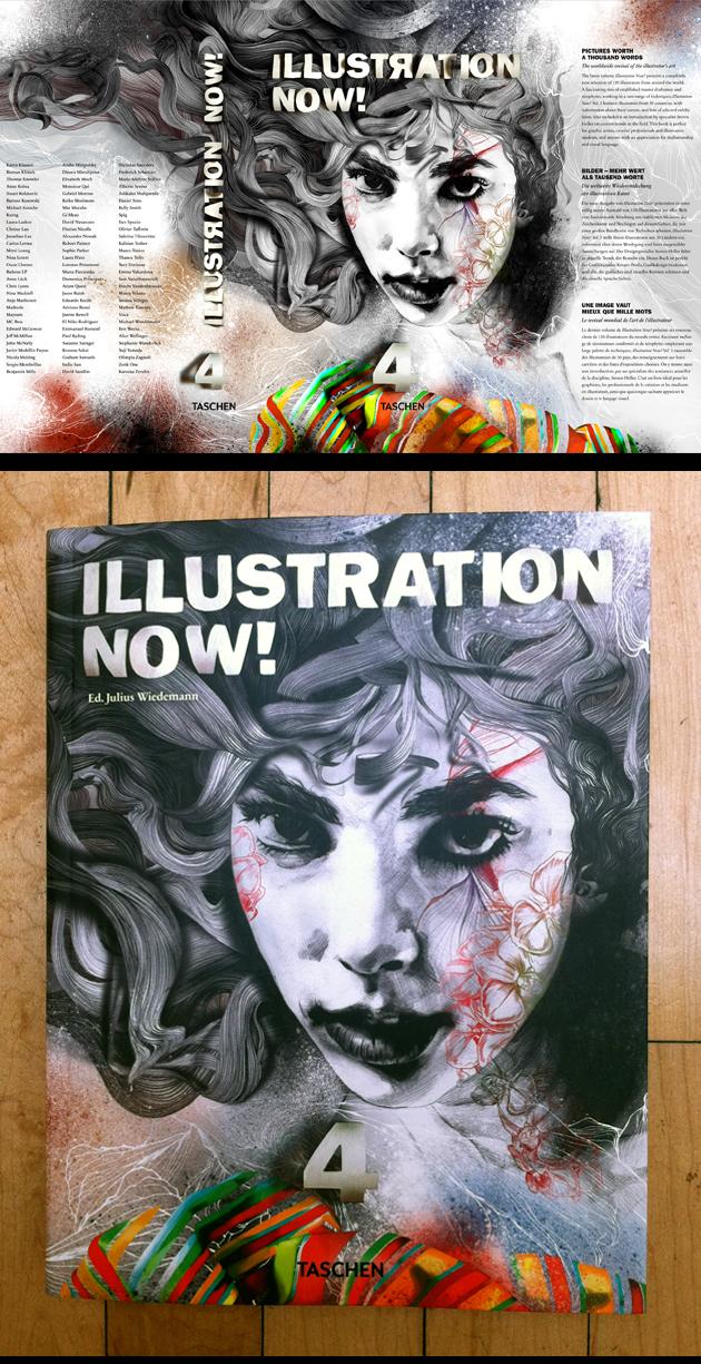 Gabriel Moreno / Taschen Illustration Now! Cover