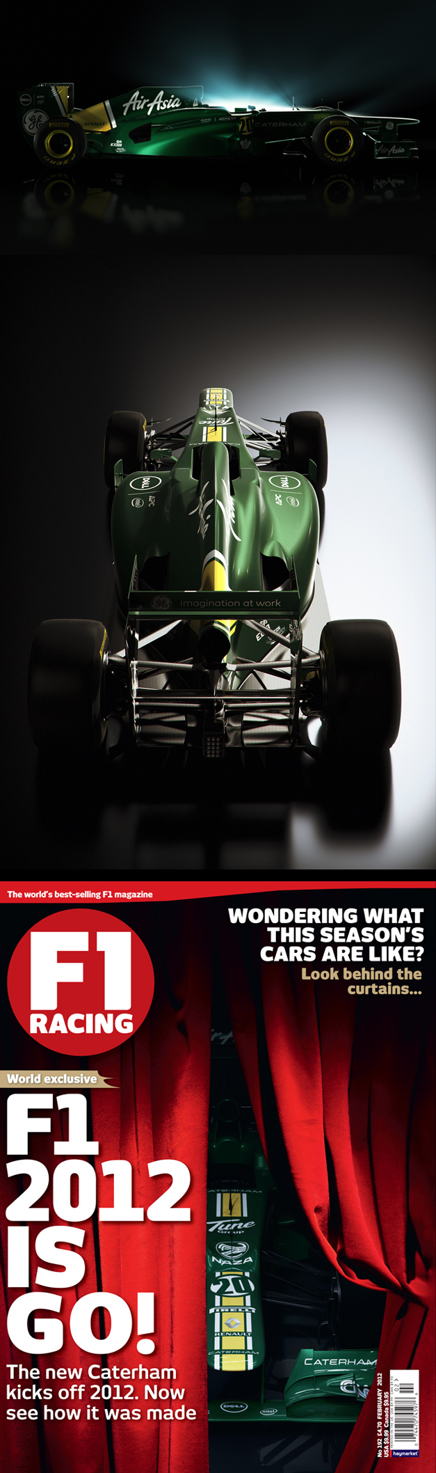 Peter Crowther / Caterham F1 / F1 Magazine