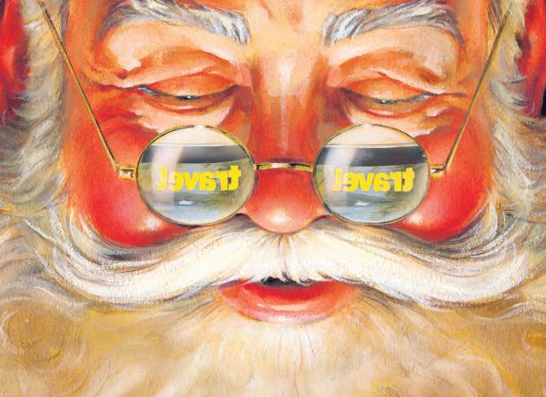 Merry Christmas + Vince McIndoe / The Sunday Times Christmas Day iPad Edition