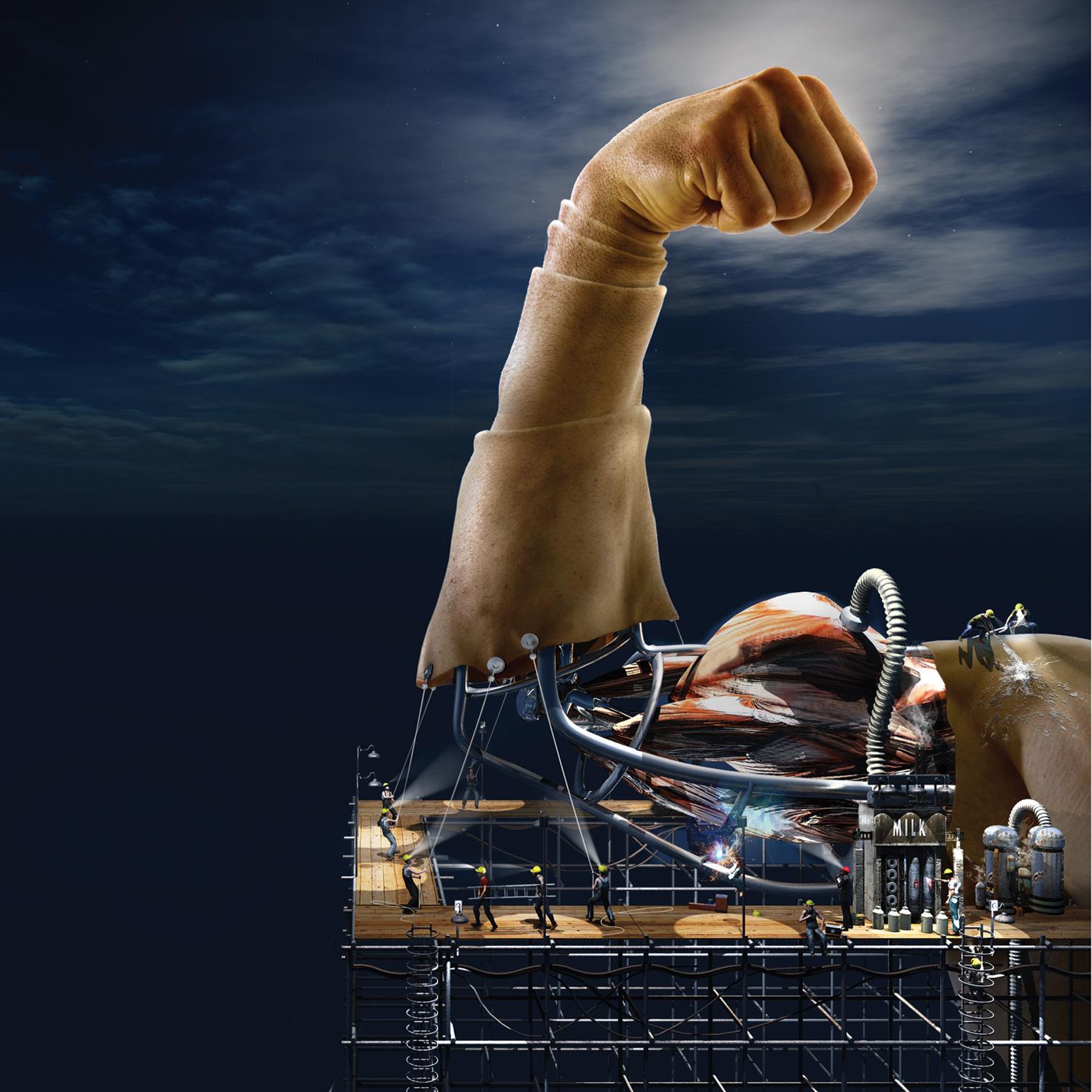 Muscle Core Construction / Men's Health Magazine