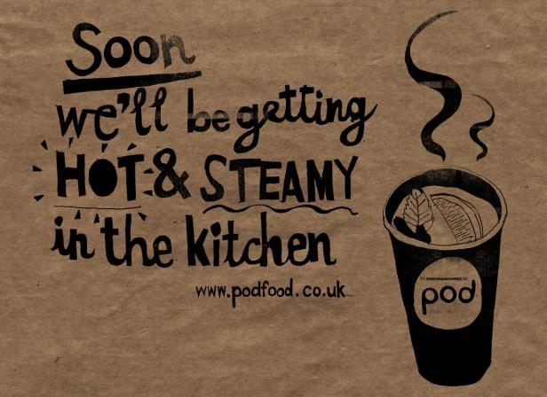 Pod Food Opening Soon