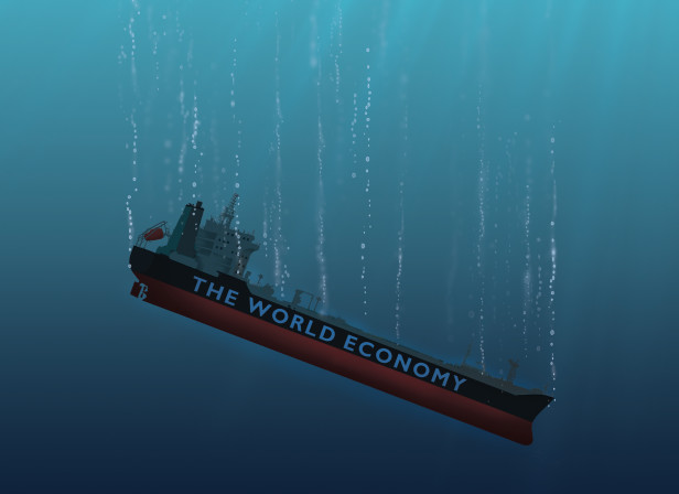 Sinking World Economy / The Economist