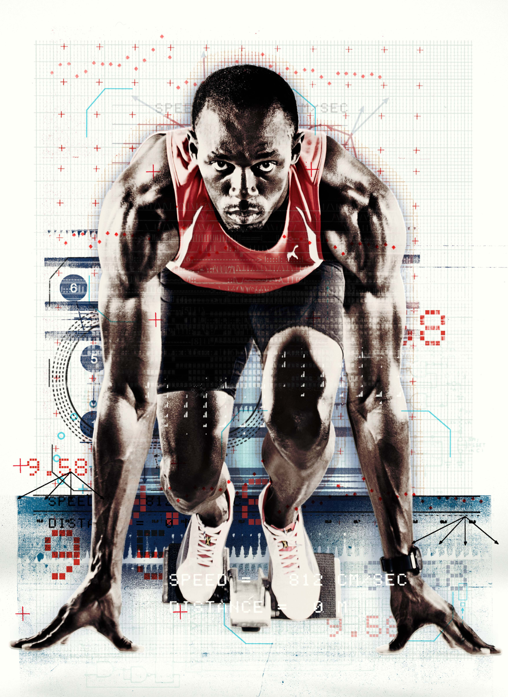 Usain Bolt Original / Red Bulletin