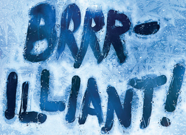 Brrr-illinat Frost Snow Typography / Time Out London
