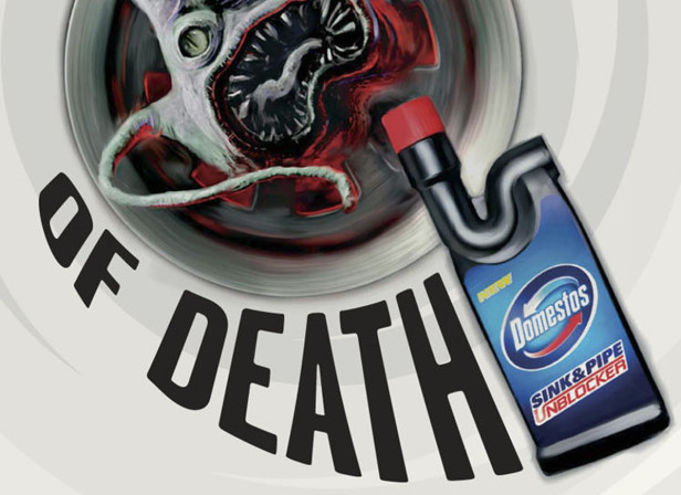 domestos spiral of death