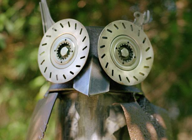 Owl Sculpture Show Brighton Festival