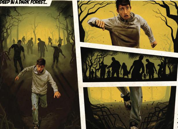 Phones 4U Zombies Comic Strip Upgrade