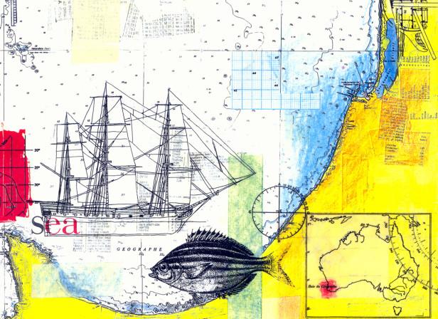 Australia Coast Map / Morning Herald