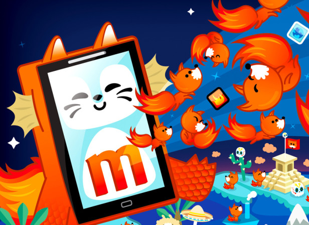 Mozilla Firefox Smart Phone / Fast Company Magazine.