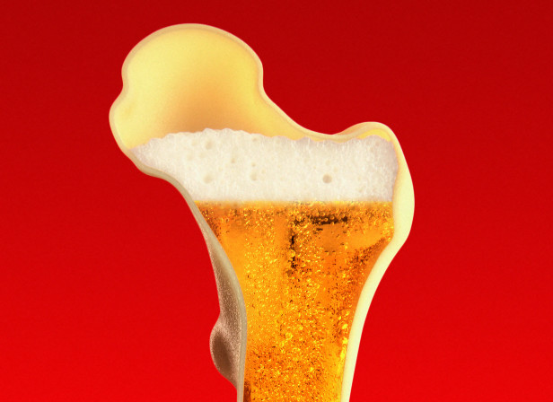 Legbone Beer Men's Health Magazine Crowther