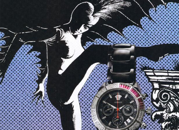 Bat Woman Watched Harpers Bazaar