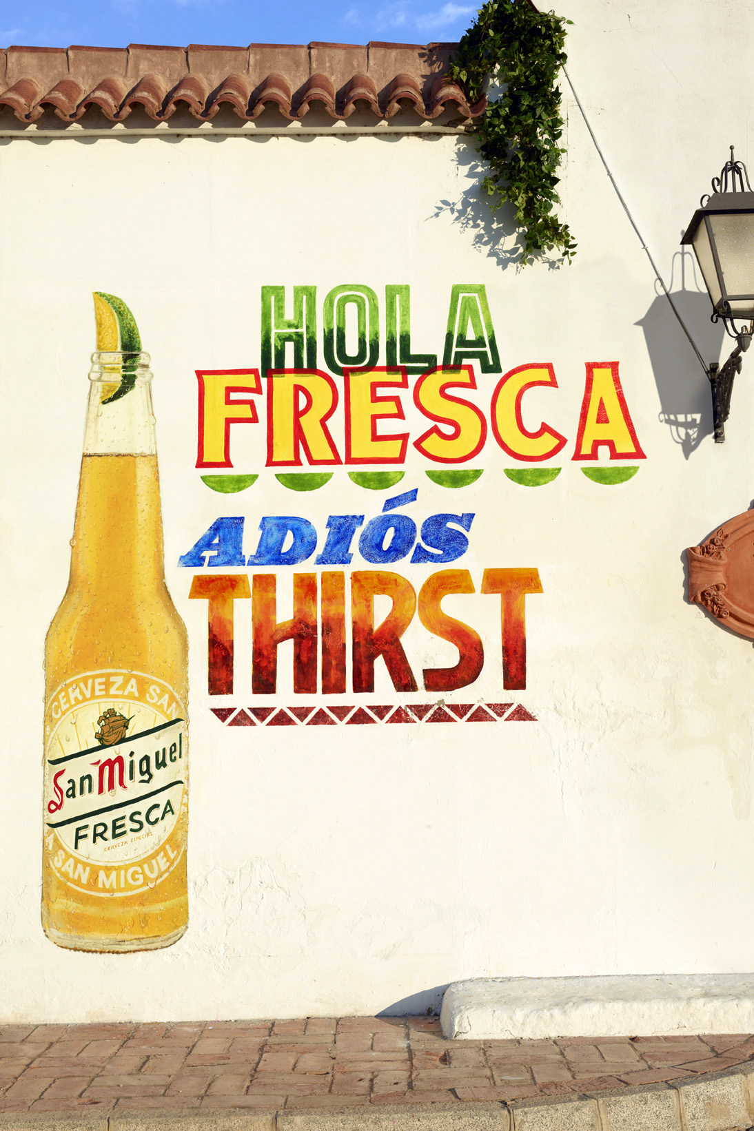 San Miguel Hola Fresca Mural Based On A Layout By Alan