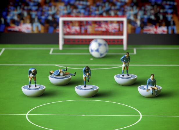 Football Injuries / Men's Fitness Magazine
