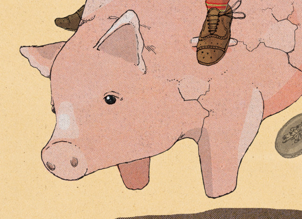 Piggy Bankers / The Telegraph