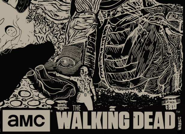 52-AMC-The-Walking-Dead-Scren-Print_horrow_busy_medical_human-Body_scary.jpg