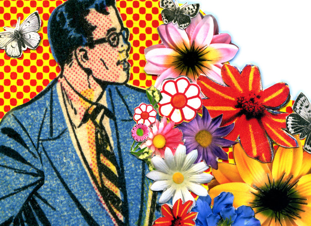 Flowers In Buttonhole GQ