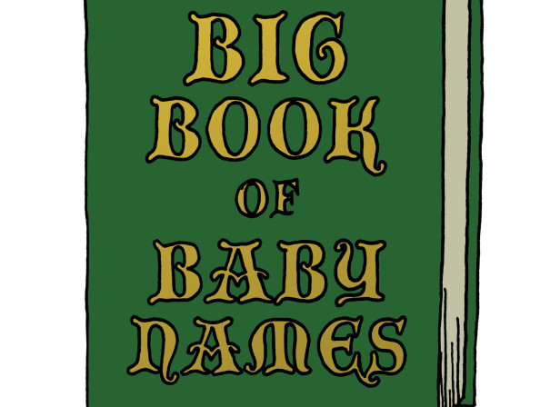 The Big Book Of Baby Names / Mothercare