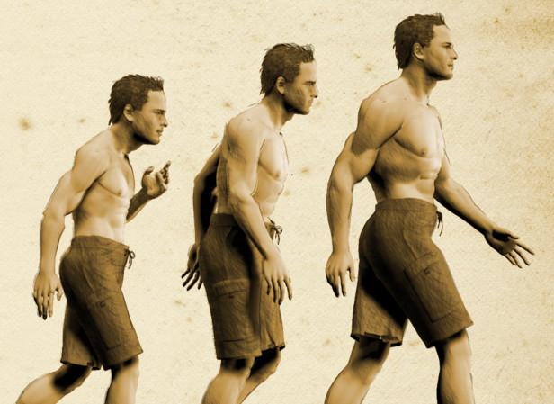 Scrawny To Brawny / Men's Health Magazine