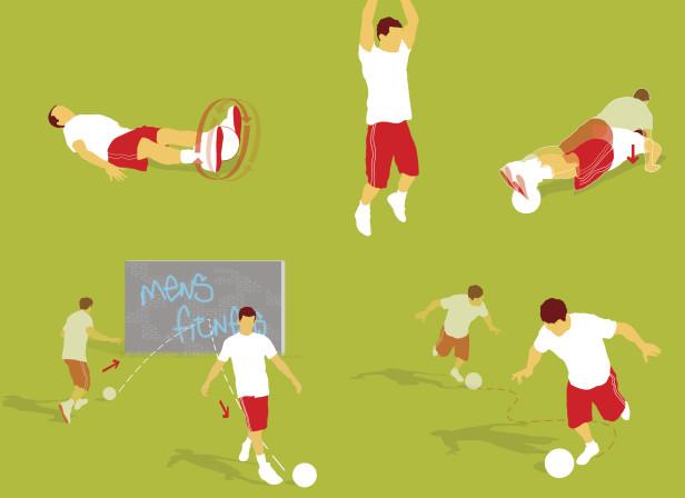 Fitness Football Training Exercise