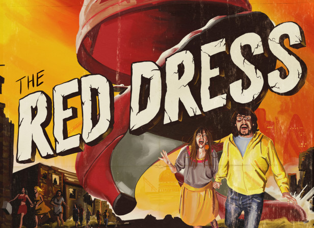 The Red Dress Poster