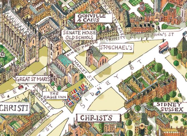 The University Town of Cambridge / CAM Magazine
