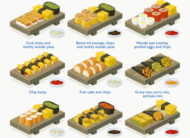 Sushi Nite at the Chippy