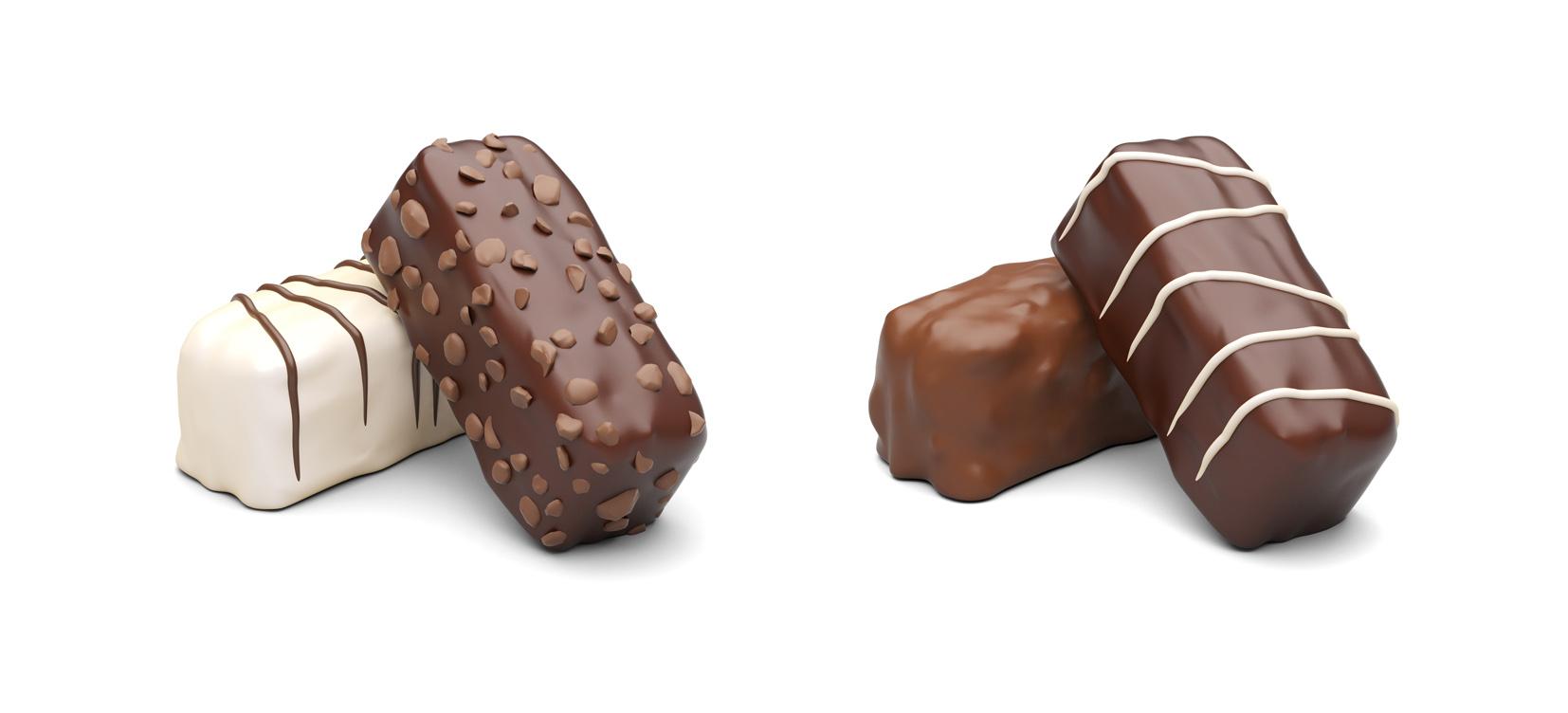 Chocolate Renders