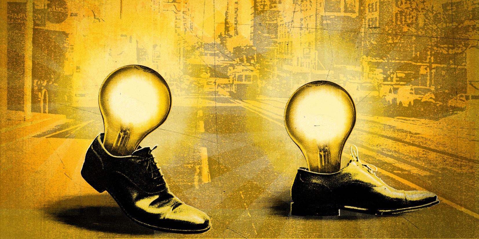 Thinking Shoes