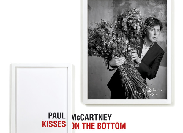 Paul McMartney / Kisses On The Bottom Album Cover