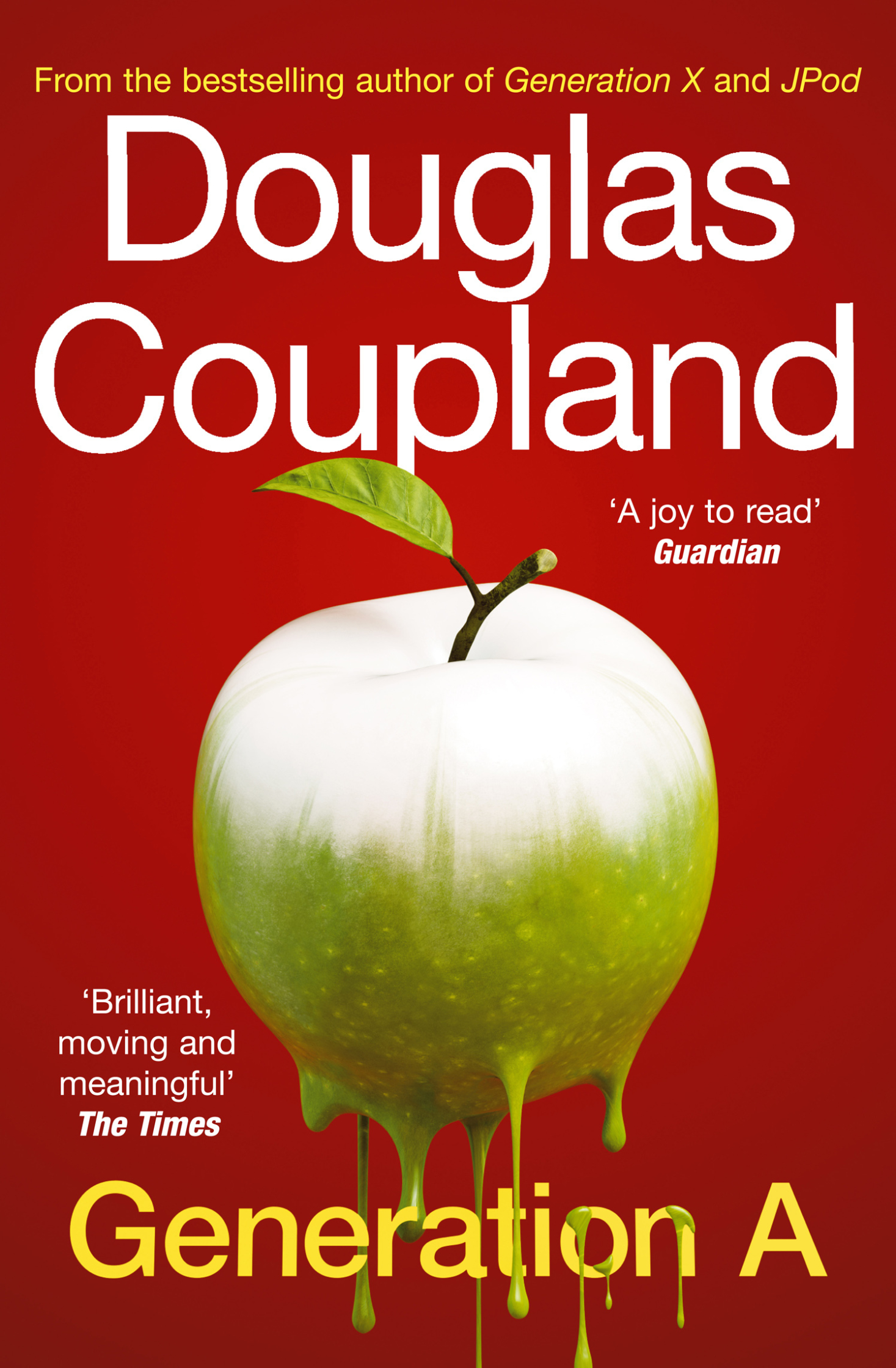 Douglas Coupland - Generation A Cover