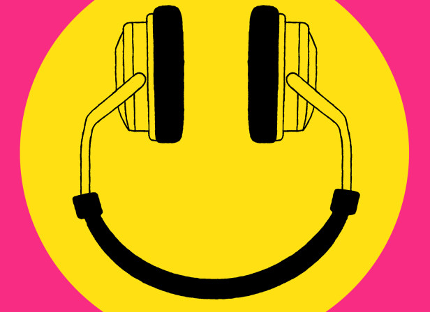 SP:UK Smiley Headphones