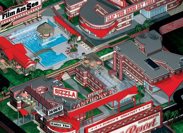 Rote Fabrik Poster