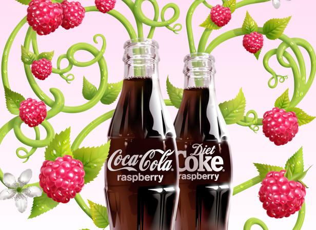 Raspberry Coca Cola