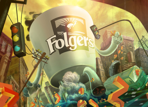 Folgers Coffee 2