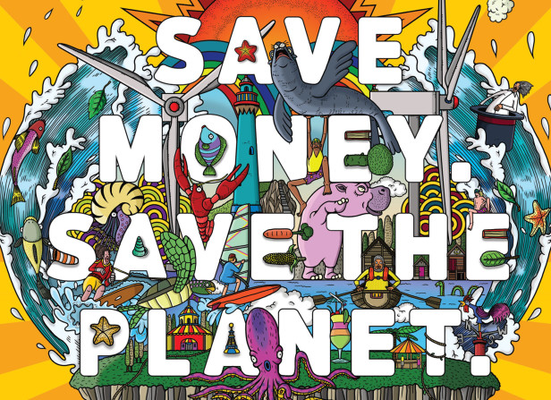 Save Money. Save The Planet / Good Energy