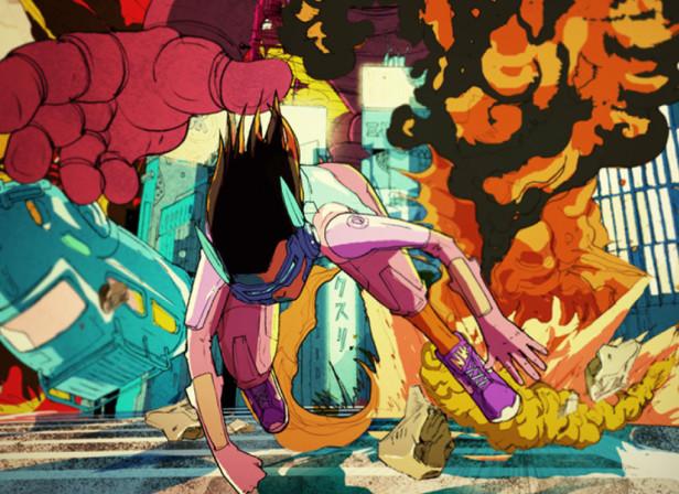 Nike Giant Robot Chase