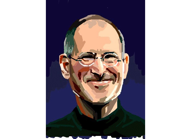 Steve Jobs iPad Painting