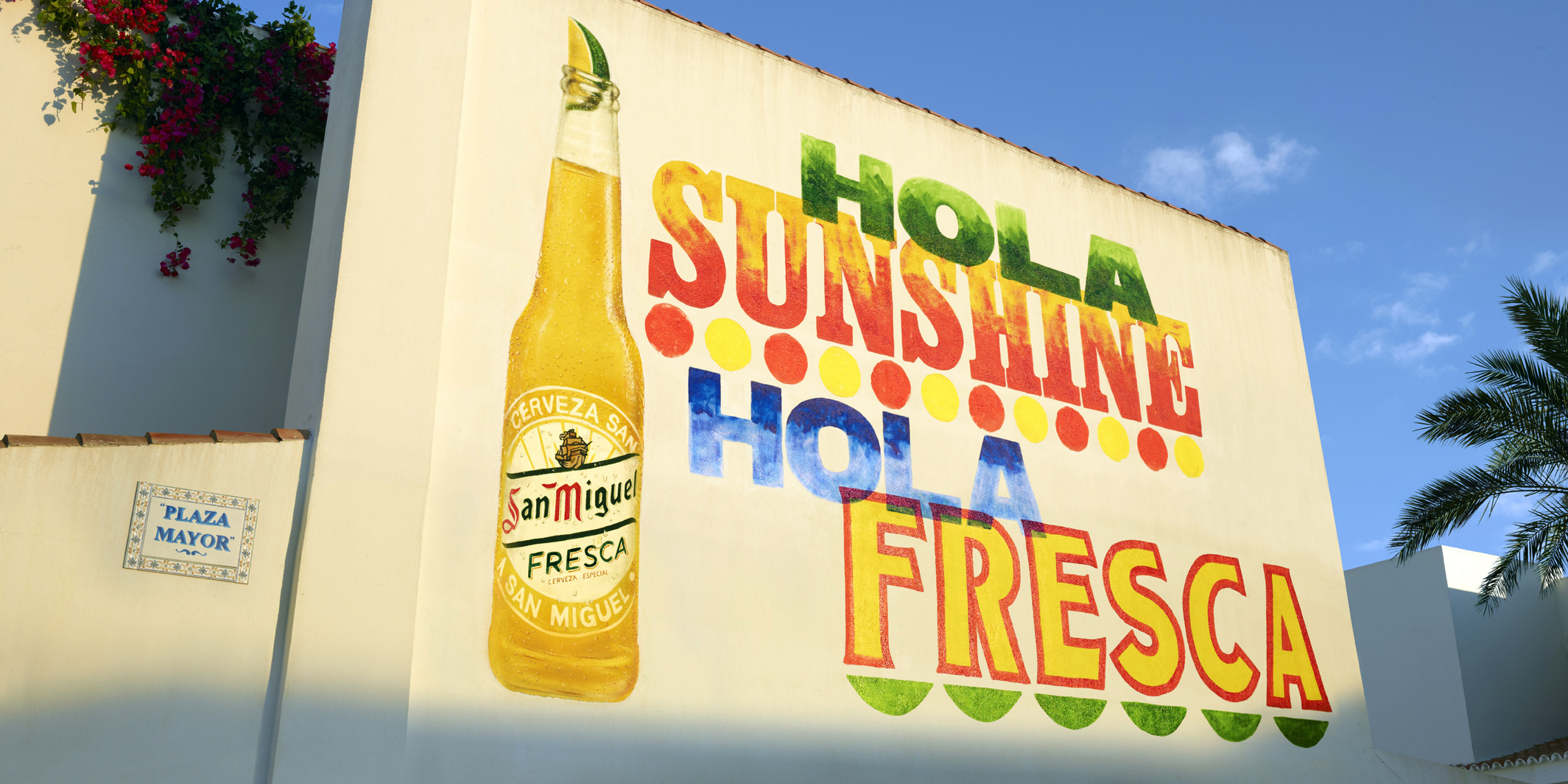 San Miguel Hola Fresca Mural Based On A Layout By Alan 48 Sheet