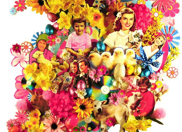 Easter Window Display 3D HMV