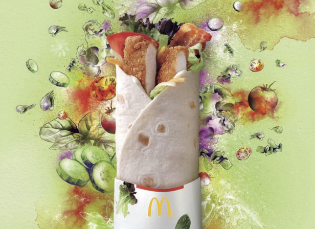 Nuevo McDonalds McWrap