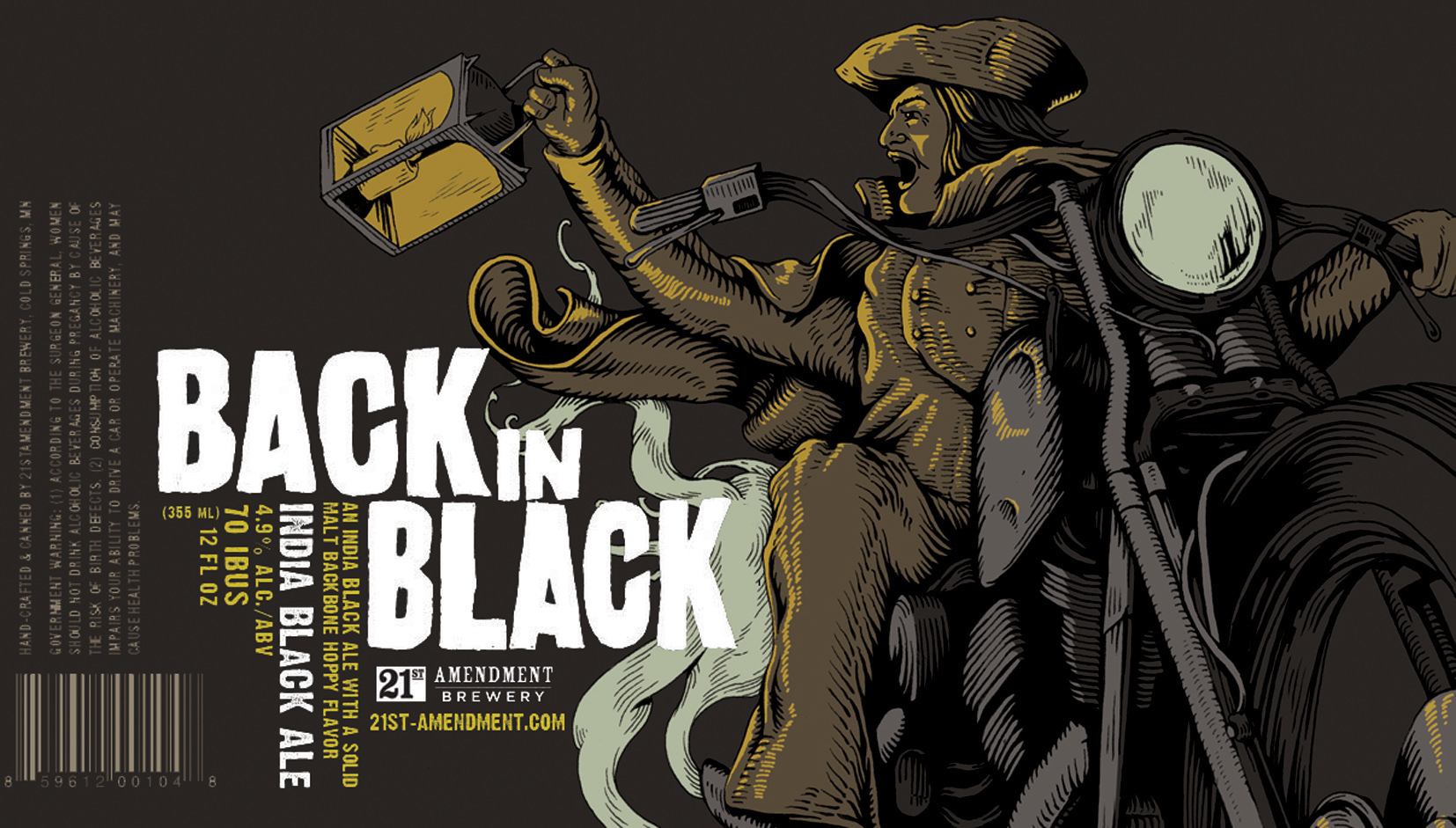 Back In Black - 21st Amendment Packaging