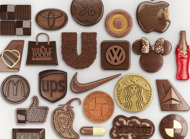 Chocolate Icons / Fortune Magazine