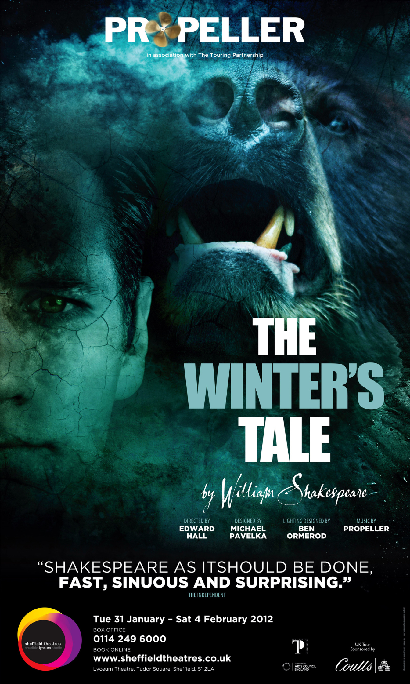 The Winters Tale by William Shakespeare / Propeller Theatre Company