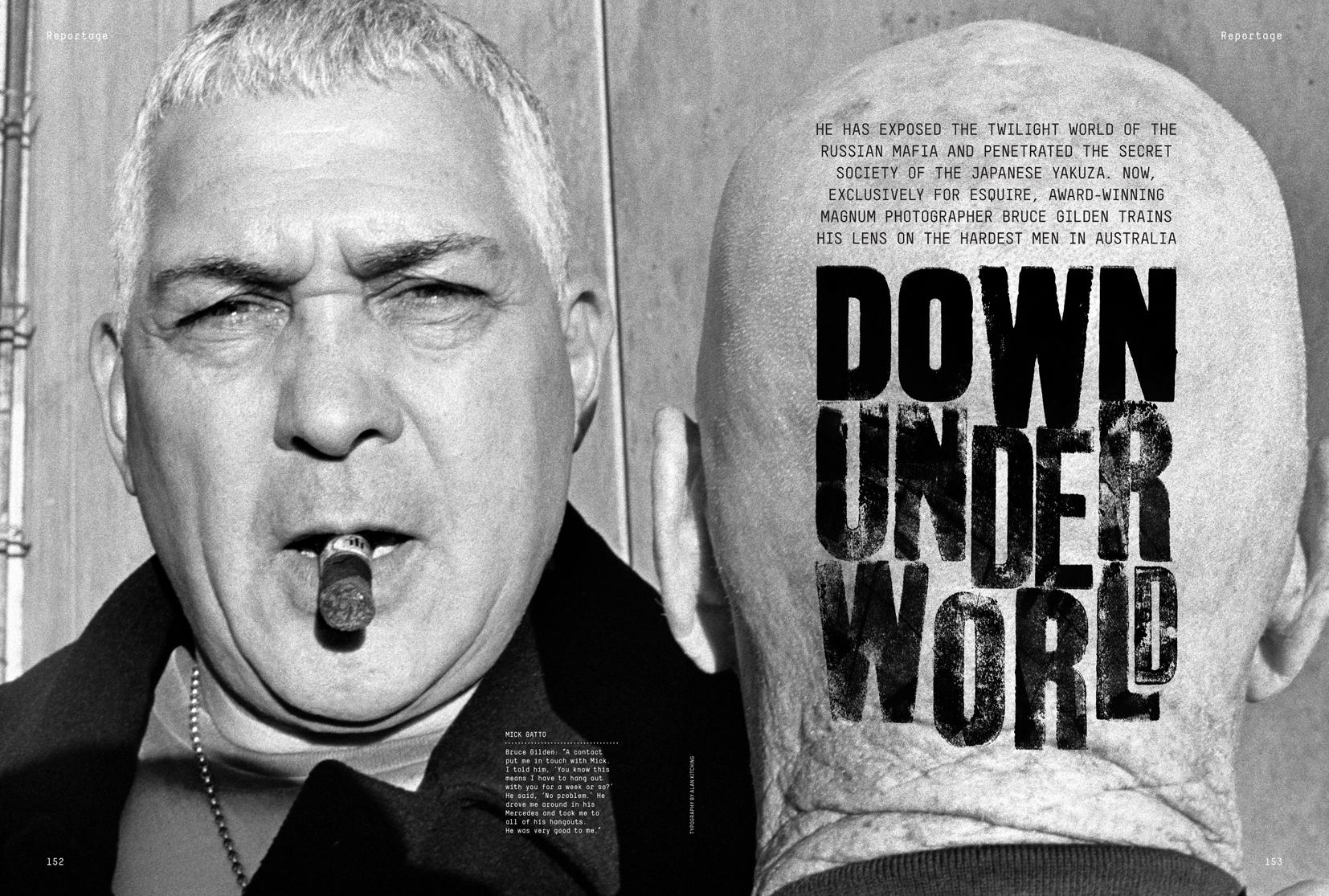 Esquire Down Underworld