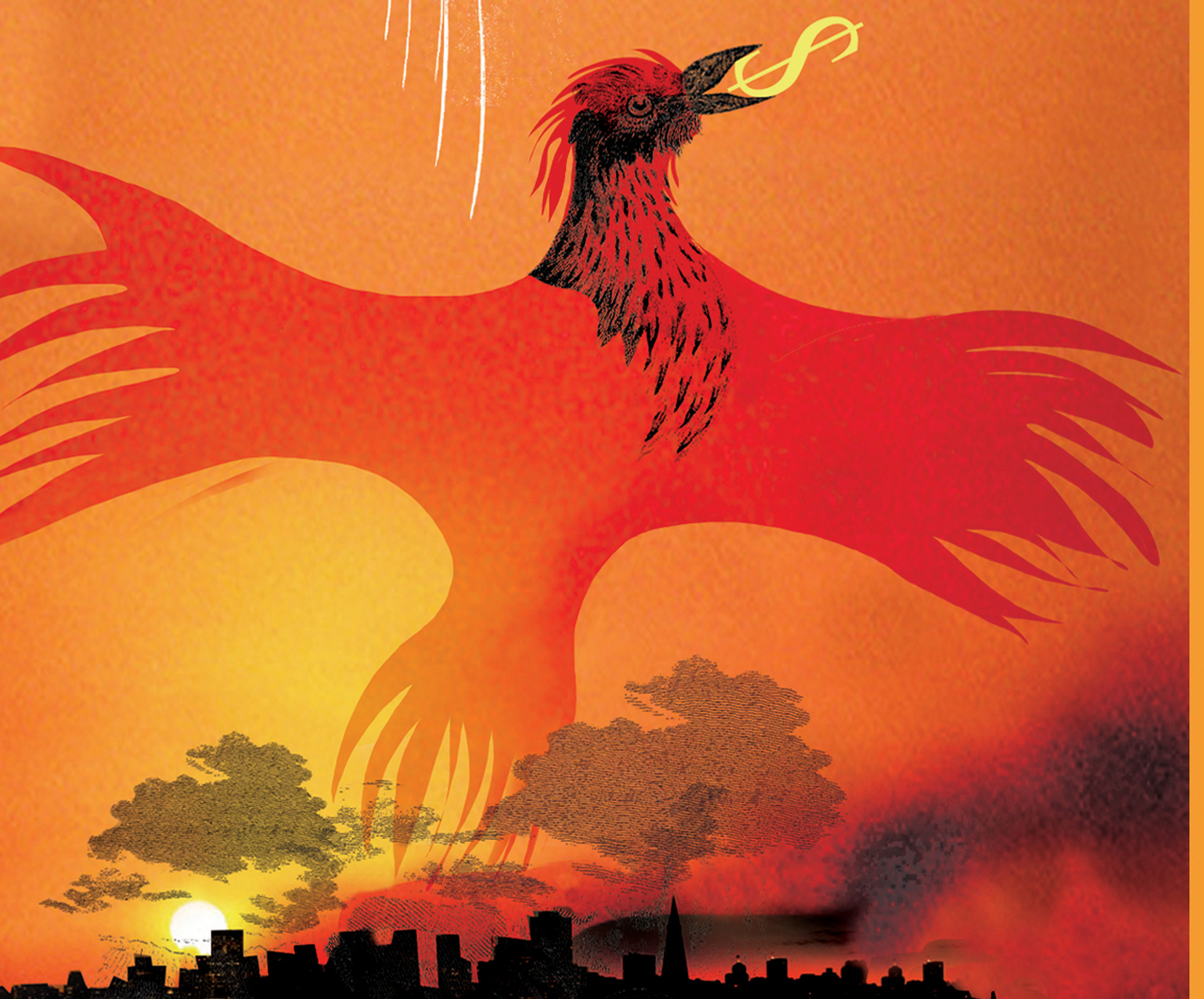 Phoenix From The Flames The Guardian