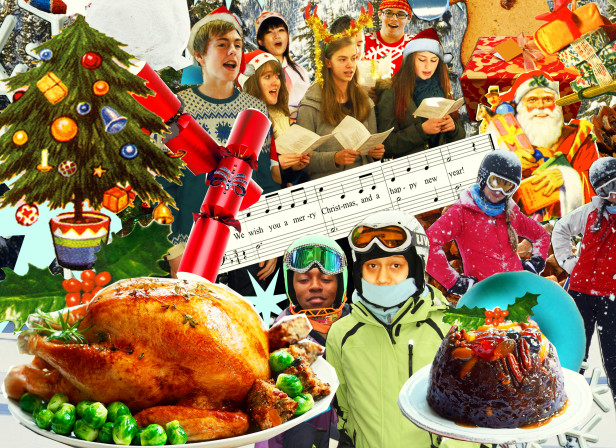 Christmas Teen Sports Language Students