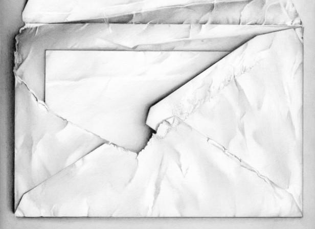 Envelope Revealing Folded Letter